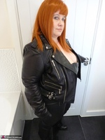 Mrs Leather. Leather Rock Chick Pt1 Free Pic 8