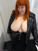 Mrs Leather. Leather Rock Chick Pt1 Free Pic 12