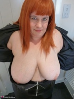 Mrs Leather. Leather Rock Chick Pt1 Free Pic 13