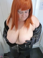 Mrs Leather. Leather Rock Chick Pt1 Free Pic 14