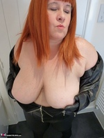 Mrs Leather. Leather Rock Chick Pt1 Free Pic 15