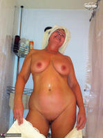 Busty Bliss. Stripping In The Bathroom & Shower Power Free Pic 10
