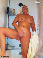 Busty Bliss. Stripping In The Bathroom & Shower Power Free Pic 12
