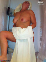 Busty Bliss. Stripping In The Bathroom & Shower Power Free Pic 13