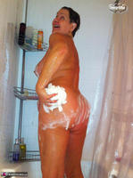 Busty Bliss. Stripping In The Bathroom & Shower Power Free Pic 16