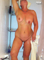 Busty Bliss. Stripping In The Bathroom & Shower Power Free Pic 19
