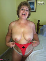 Busty Bliss. Black Spade & A Red Pantie For A Great Fan Free Pic 13
