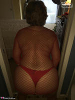 Busty Bliss. Black Spade & A Red Pantie For A Great Fan Free Pic 18