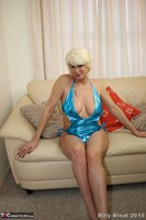 . Electric Blue Swimming Costume Pt1 Free Pic 8