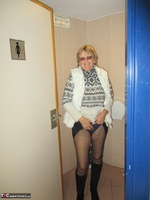 Abby Roberts. Holdups Pantyhose & Boots Free Pic 17