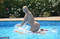 Sweet Susi. Naked On The Air Matress Free Pic 12