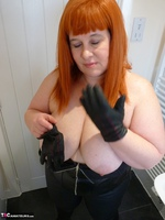Mrs Leather. Leather Rock Chick Pt2 Free Pic 2