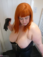 Mrs Leather. Leather Rock Chick Pt2 Free Pic 4