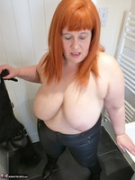Mrs Leather. Leather Rock Chick Pt2 Free Pic 7