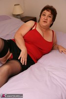 Kinky Carol. Stockings On The Bed Pt1 Free Pic 8