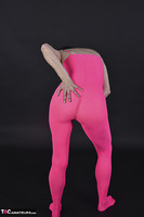 Hot Milf. Pink Catsuit Free Pic 3