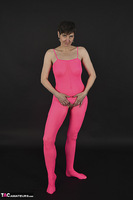 Hot Milf. Pink Catsuit Free Pic 5
