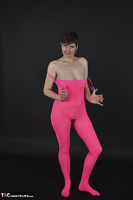 Hot Milf. Pink Catsuit Free Pic 7