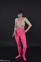 Hot Milf. Pink Catsuit Free Pic 8