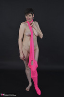 Hot Milf. Pink Catsuit Free Pic 14