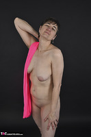 Hot Milf. Pink Catsuit Free Pic 19