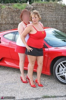 Curvy Claire. Little Red Sports Car Pt1 Free Pic 3