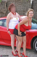 Curvy Claire. Little Red Sports Car Pt1 Free Pic 5