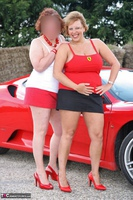 Curvy Claire. Little Red Sports Car Pt1 Free Pic 9