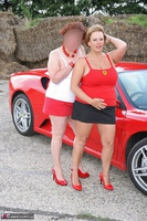 Curvy Claire. Little Red Sports Car Pt1 Free Pic 10