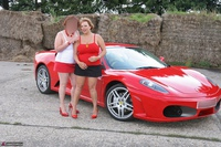 Curvy Claire. Little Red Sports Car Pt1 Free Pic 11