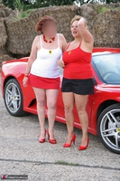 Curvy Claire. Little Red Sports Car Pt1 Free Pic 12