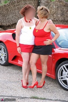 Curvy Claire. Little Red Sports Car Pt1 Free Pic 13