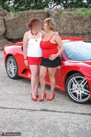 Curvy Claire. Little Red Sports Car Pt1 Free Pic 14