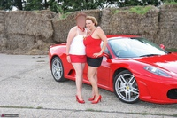 Curvy Claire. Little Red Sports Car Pt1 Free Pic 15