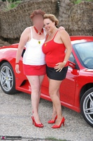 Curvy Claire. Little Red Sports Car Pt1 Free Pic 16