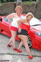 Curvy Claire. Little Red Sports Car Pt1 Free Pic 18