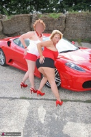 Curvy Claire. Little Red Sports Car Pt1 Free Pic 19