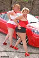 Curvy Claire. Little Red Sports Car Pt1 Free Pic 20