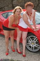 Curvy Claire. Little Red Sports Car Pt2 Free Pic 2