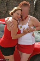 Curvy Claire. Little Red Sports Car Pt2 Free Pic 6