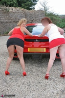 Curvy Claire. Little Red Sports Car Pt2 Free Pic 11