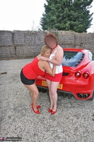 Curvy Claire. Little Red Sports Car Pt2 Free Pic 17