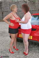 Curvy Claire. Little Red Sports Car Pt2 Free Pic 20