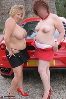 Curvy Claire. Little Red Sports Car Pt4 Free Pic 4