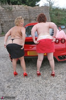 Curvy Claire. Little Red Sports Car Pt4 Free Pic 5