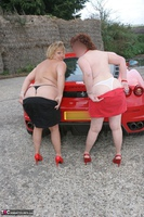 Curvy Claire. Little Red Sports Car Pt4 Free Pic 6