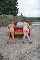 Curvy Claire. Little Red Sports Car Pt4 Free Pic 10