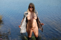 Sweet Susi. In The Forest On The Bench Free Pic 10
