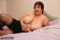Kinky Carol. Stockings On The Bed Pt2 Free Pic 4