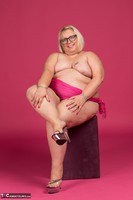 Lexie Cummings. Pink Sarong On The Chair Free Pic 1